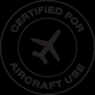Certificado para avión